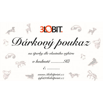copy of Dárkový poukaz v hodnotě 300 Kč