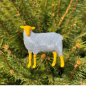 Sheep silver/yellow
