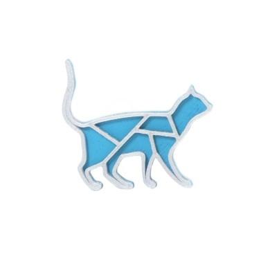 Kočka turqouise blue/silver