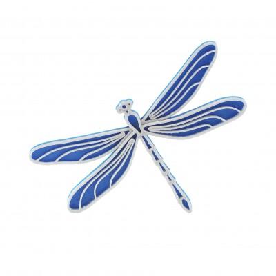 Vážka nobble blue/silver