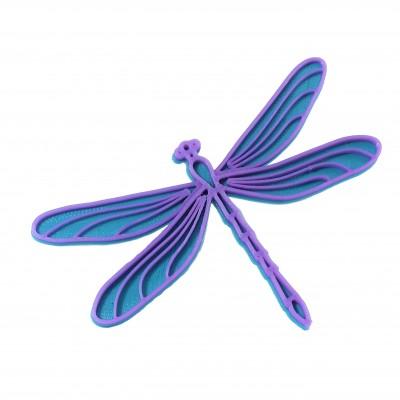 Vážka turqouise blue/violet