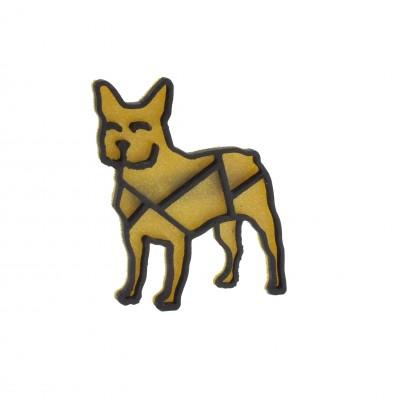 Bulldog gold/black